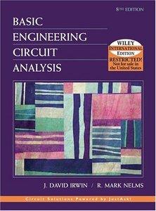 Basic Engineering Circuit Analysis, 8/e-cover