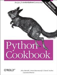 Python Cookbook, 2/e (Paperback)-cover