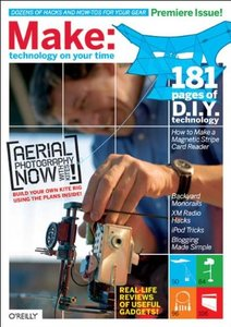 Make: 01 Technology On Your Own Time-cover
