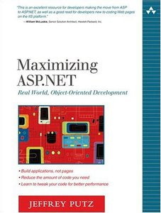 Maximizing ASP.NET: Real World, Object-Oriented Development-cover