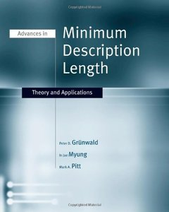 Advances in Minimum Description Length: Theory and Applications (Hardcover)-cover