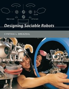 Designing Sociable Robots (Paperback)-cover