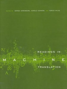 Readings in Machine Translation-cover