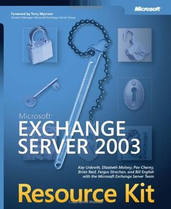 Microsoft Exchange Server 2003 Resource Kit-cover