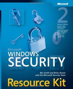 Microsoft Windows Security Resource Kit, 2/e-cover