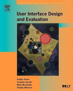 User Interface Design and Evaluation (Paperback)-cover