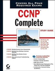 CCNP: Complete Study Guide (642-801, 642-811, 642-821, 642-831)-cover