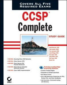 CCSP: Complete Study Guide (642-501, 642-511, 642-521, 642-531, 642-541)-cover