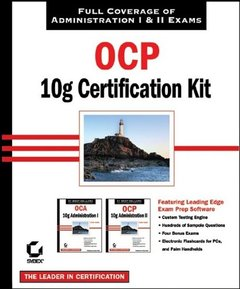 OCP: Oracle 10g Certification Kit (1Z0-042 and 1Z0-043)-cover