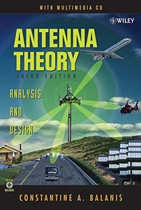 Antenna Theory: Analysis and Design, 3/e-cover