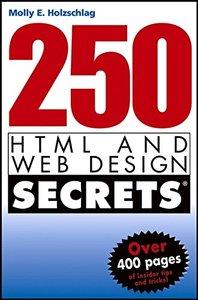 250 HTML and Web Design Secrets-cover