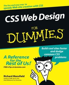 CSS Web Design For Dummies-cover