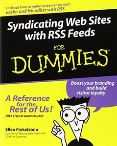 Syndicating Web Sites with RSS Feeds For Dummies-cover