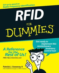 RFID For Dummies (Paperback)-cover