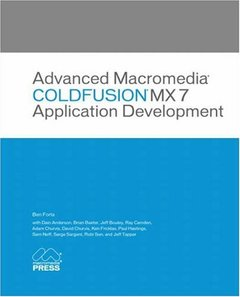 Advanced Macromedia ColdFusion MX 7 Application Development-cover