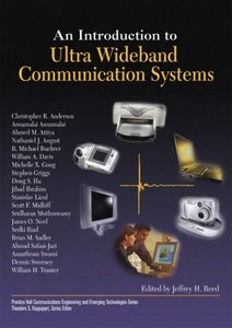 An Introduction to Ultra Wideband Communication Systems-cover