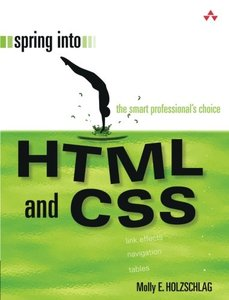 Spring Into HTML and CSS (Paperback)-cover