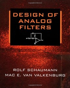 Design of Analog Filters-cover