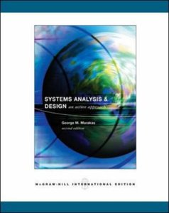 Systems Analysis and Design: An Active Approach, 2/e