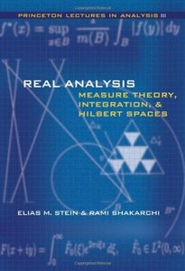 Real Analysis: Measure Theory, Integration, and Hilbert Spaces (Hardcover)-cover