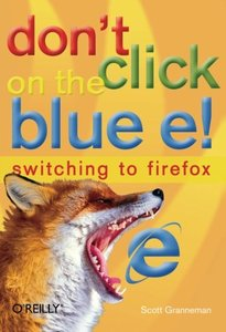 Don't Click on the Blue E!-cover