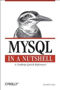 MySQL in a Nutshell-cover