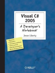 Visual C# 2005: A Developer's Notebook-cover