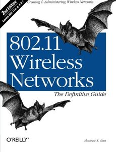 802.11 Wireless Networks: The Definitive Guide, 2/e (Paperback)-cover