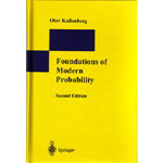 Foundations of Modern Probability, 2/e (Hardcover)