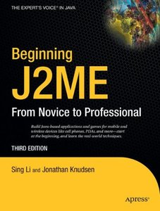 Beginning J2ME: From Novice to Professional, 3/e-cover