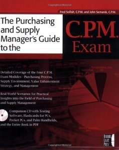 The Purchasing Manager's Guide To The C.P.M. Exam-cover