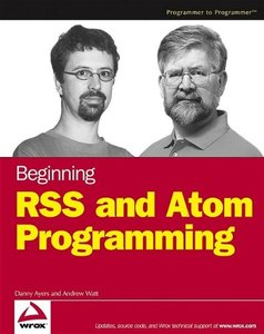 Beginning RSS and Atom Programming (Paperback)-cover