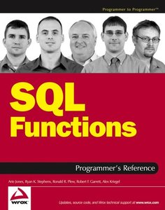 SQL Functions Programmer's Reference-cover
