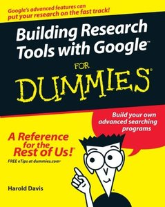 Building Research Tools with Google For Dummies-cover
