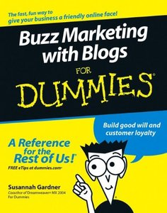 Buzz Marketing with Blogs For Dummies-cover