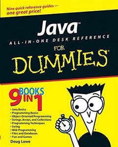 Java All-In-One Desk Reference For Dummies (Paperback)-cover
