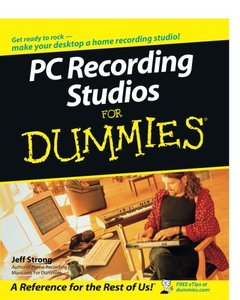PC Recording Studios For Dummies-cover