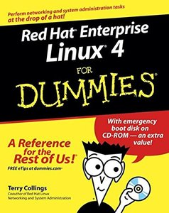 Red Hat Enterprise Linux 4 For Dummies (Paperback)-cover