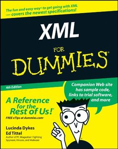 XML For Dummies, 4/e-cover
