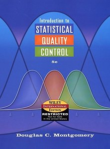 Introduction to Statistical Quality Control, 5/e (Hardcover)-cover