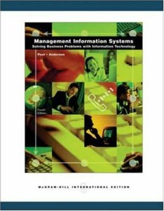 Management Information Systems: Solving Business Problems with Information Technology, 4/e (IE-Paperback)-cover