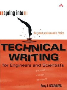 Spring Into Technical Writing for Engineers and Scientists-cover