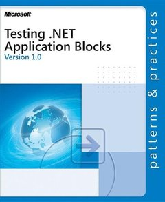 Testing .NET Application Blocks (Paperback)-cover