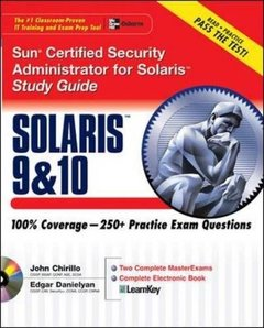 Sun Certified Security Administrator for Solaris  10 Study Guide (Paperback)-cover