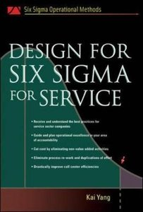Design for Six Sigma for Service-cover