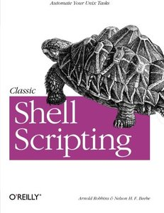 Classic Shell Scripting (Paperback)-cover