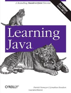 Learning Java, 3/e (Paperback)-cover