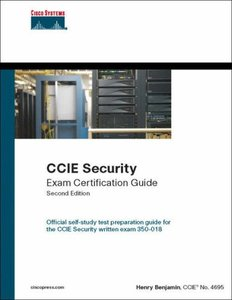CCIE Security Exam Certification Guide (CCIE Self-Study), 2/e-cover