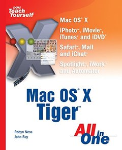 Sams Teach Yourself Mac OS X Tiger All in One-cover