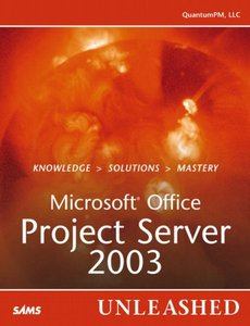 Microsoft Office Project Server 2003 Unleashed-cover